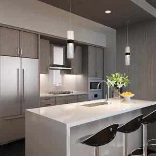 Luma Seattle - Rendering of the Kitchen Area