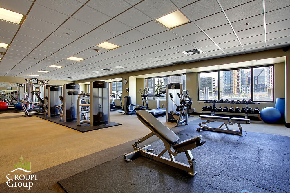 2200 Westlake Condos Denny Triangle Seattle fitness room