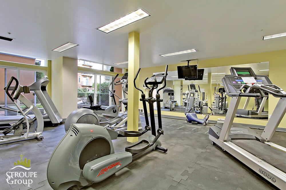 Belltown Court condos Seattle fitness room
