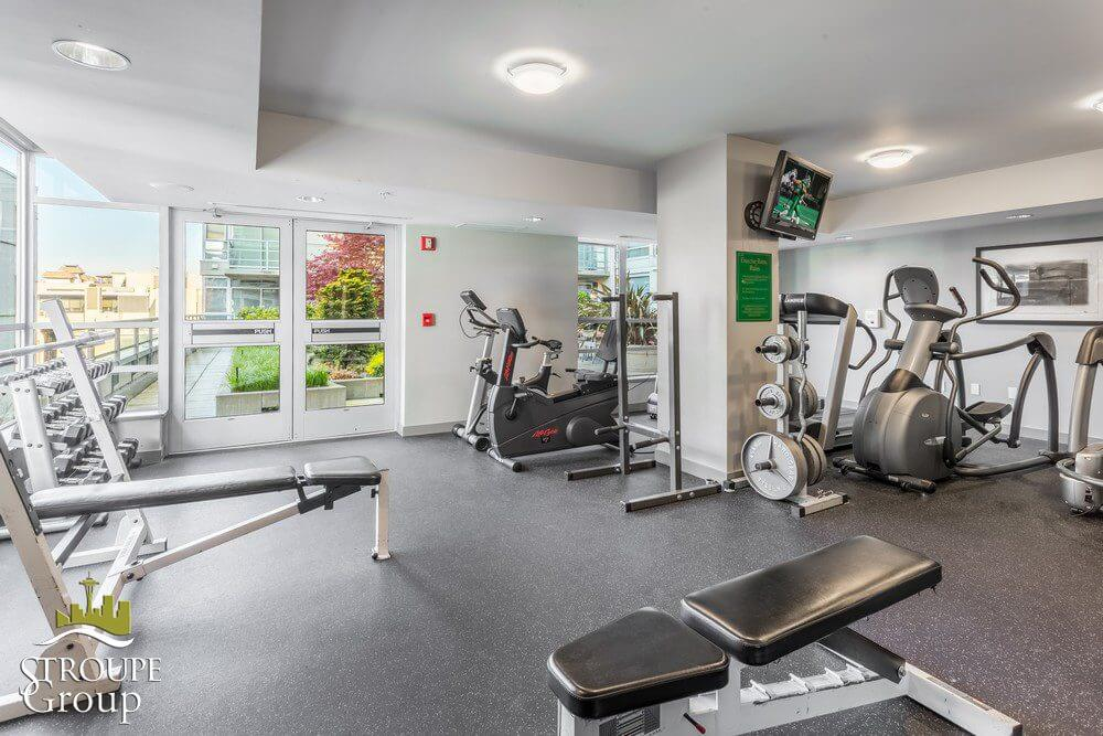 Concord condos Belltown Seattle fitness room