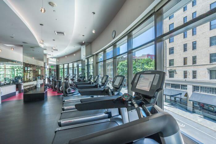 Escala condos Retail Core Seattle gym
