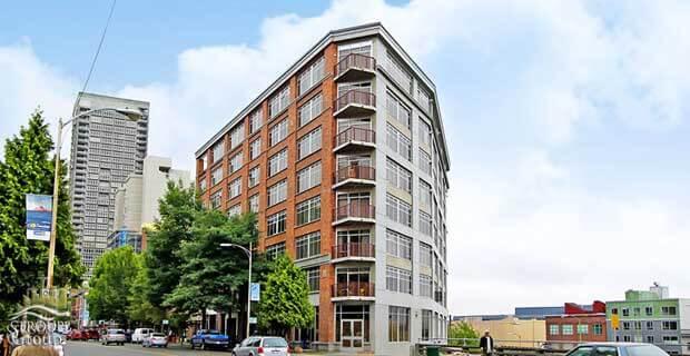 Pomeroy condos 2319 1st Avenue Seattle exterior