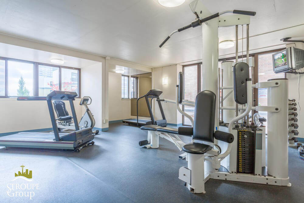 Royal Crest condos Belltown Seattle gym