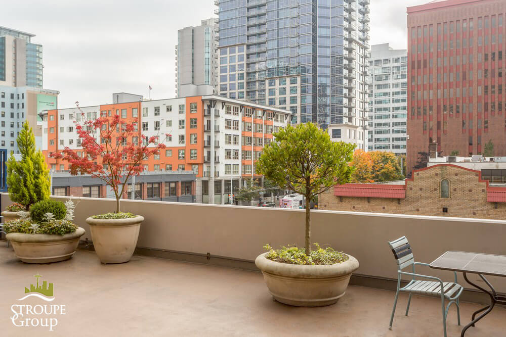 Royal Crest condos Belltown Seattle patio 3