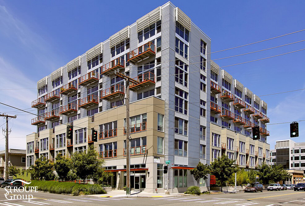 Veer Lofts condos South Lake Union Seattle exterior 2