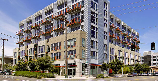 Veer Lofts condos South Lake Union Seattle exterior