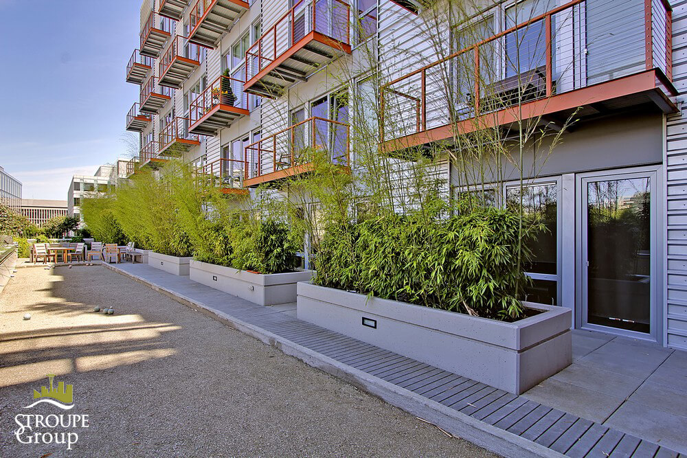 Veer Lofts condos South Lake Union Seattle roof deck 2