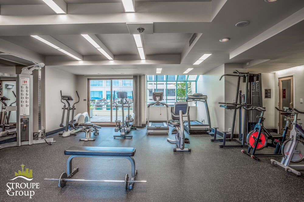 watermark tower condo west edge seattle gym