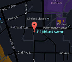 Kirkland Central Map