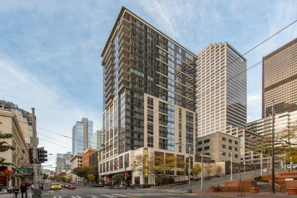 Madison Tower condos 1000 1st Ave Seattle exterior