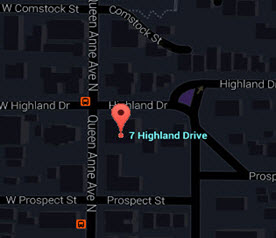 Seven Highland Drive Map