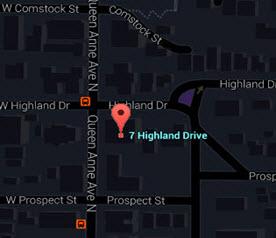 Seven Highland Drive Map
