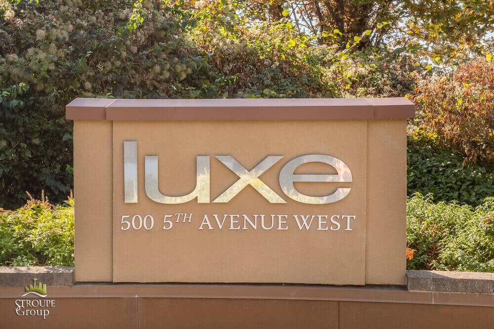 Luxe condos 500 5th Ave West Seattle logo