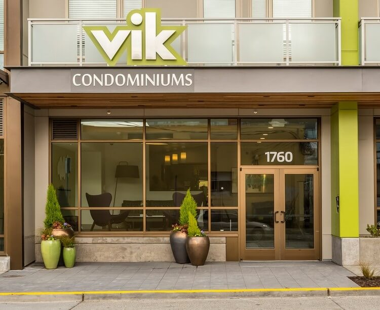 vik condos ballard Seattle entrance