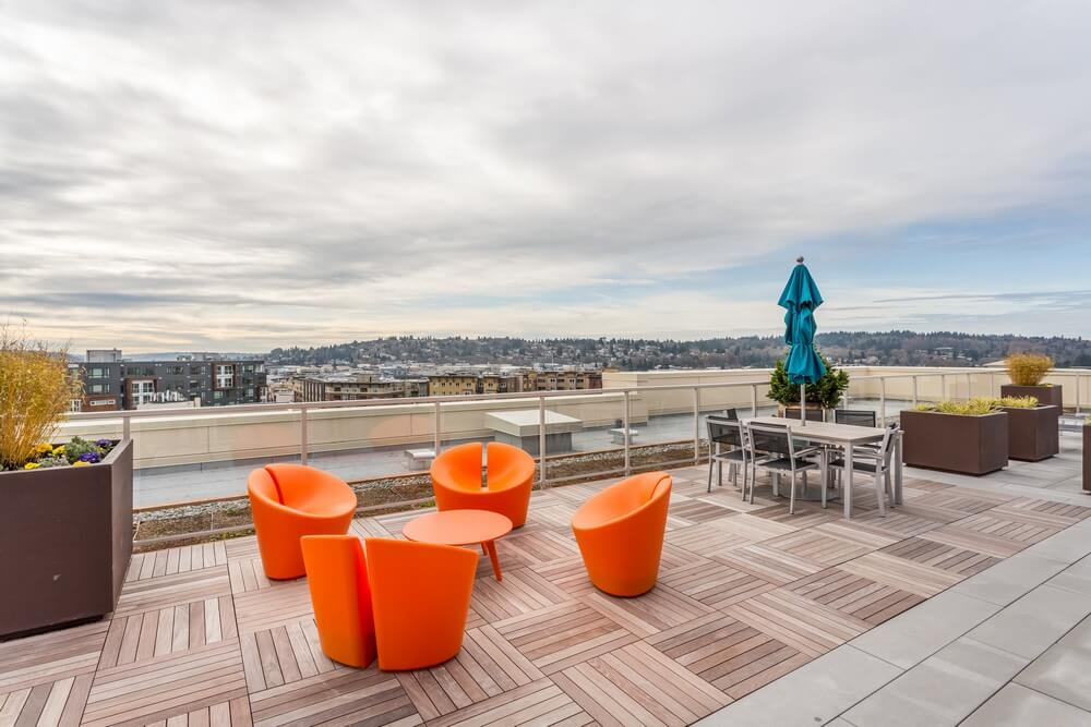 vik condos ballard Seattle roof deck 3