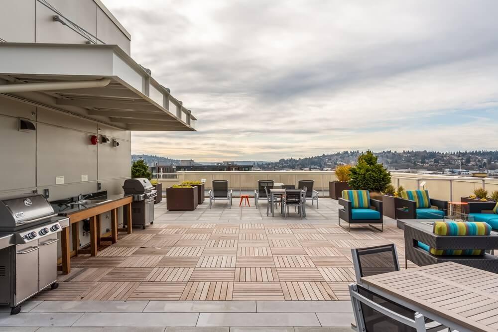 vik condos ballard Seattle roof deck