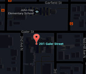 Queen Anne High School Map