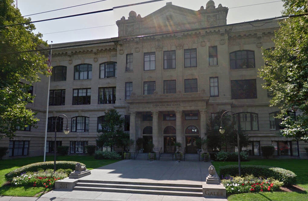 Queen Anne High School street view