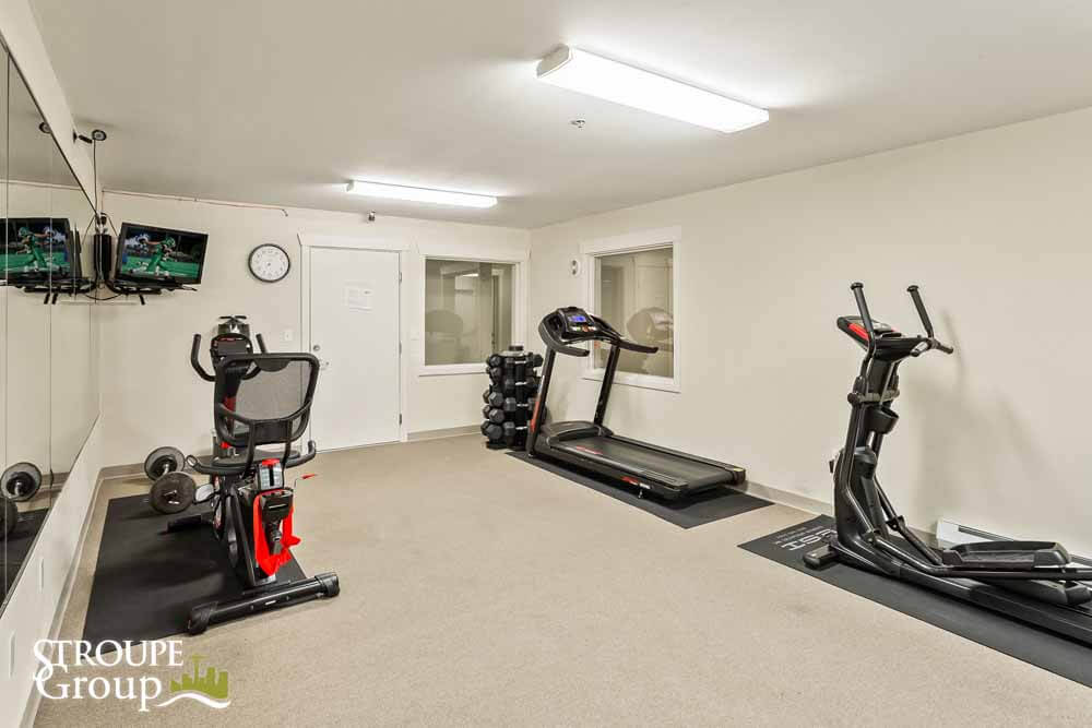 500 Elliott condos Seattle fitness room