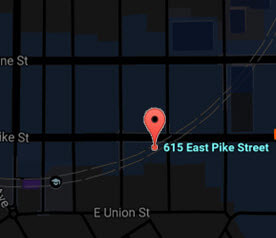 615 East Pike Map