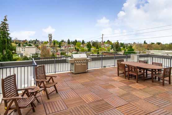 galer gardens condos queen anne roof deck wide